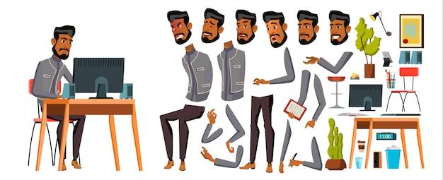 Ufficio uomo arabo