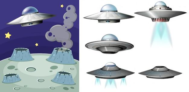 Ufo nello spazio