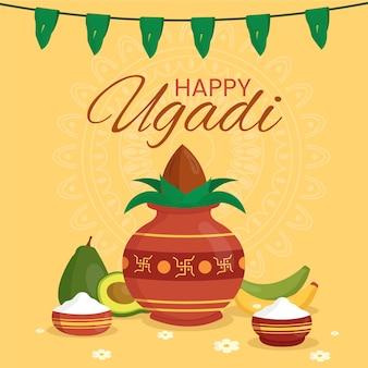 Ugadi banner holiday