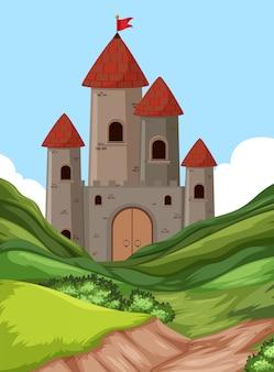 Un castello nella natura