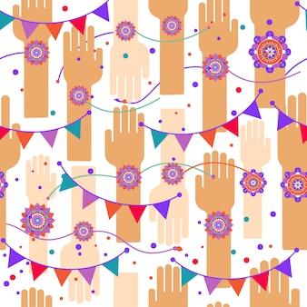 Un disegno vettoriale grafica per un festival indiano