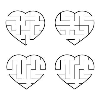 Un insieme di labirinti.