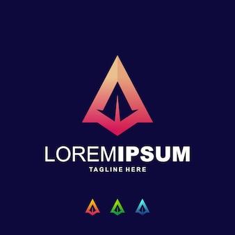 Un logo digitale alpabhet