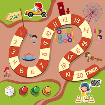 Un modello di gioco da tavolo