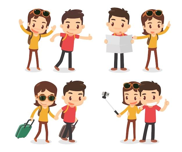 Un paio di viaggiatori