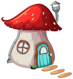 Un progetto di casa magica dei funghi