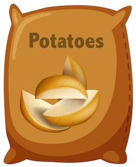 Una borsa di patate