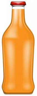 Una bottiglia di succo d'oranage