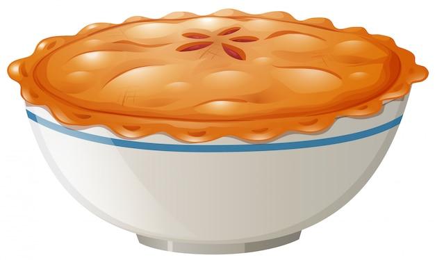 Una deliziosa torta al vaso