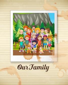 Una famiglia