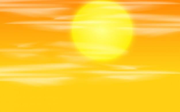 Una priorità bassa del cielo al tramonto