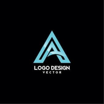 Una progettazione di logo di tipografia di simbolo