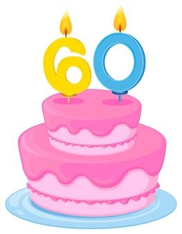 Una torta di compleanno
