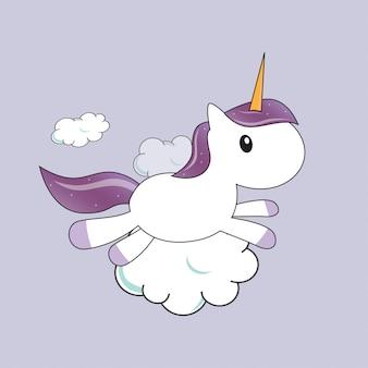 Unicorn baby fly