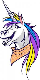 Unicorno felice