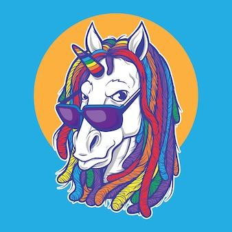 Unicorno rasta