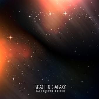 Universo sfondo luminoso