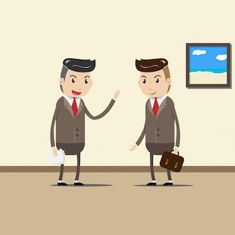 Uomini d'affari, business team, collaboratori e lavoro di squadra