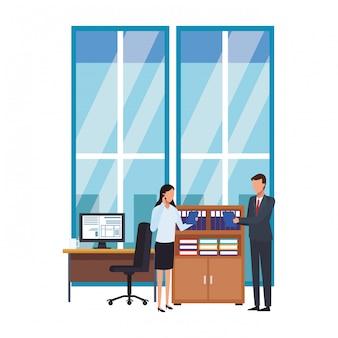 Uomini d'affari e ufficio