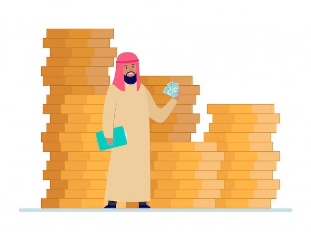 Uomo d'affari arabo