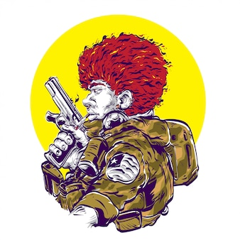 Uomo soldato