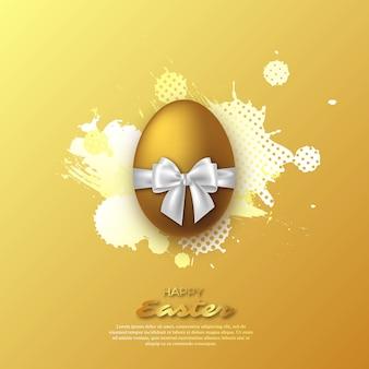 Uovo di pasqua d'oro