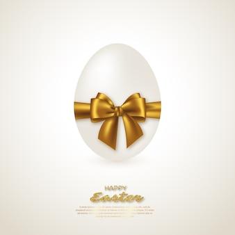 Uovo di pasqua realistico.