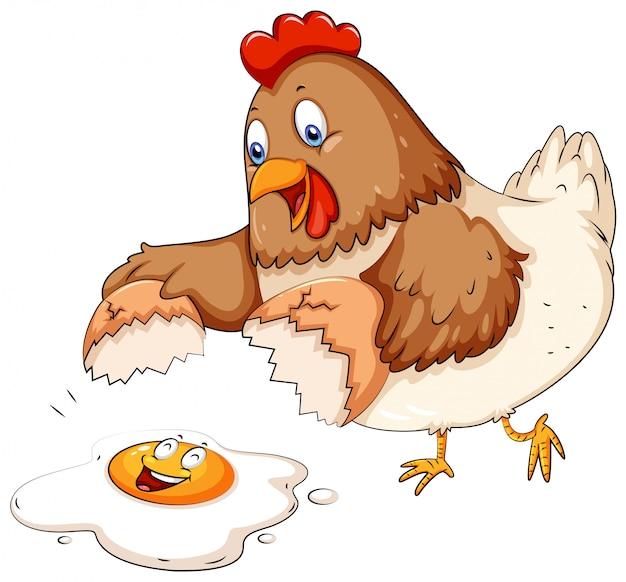 Uovo incrinato
