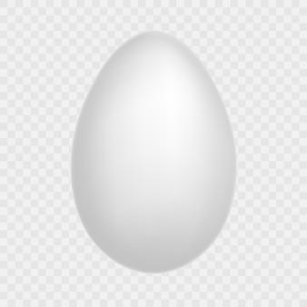 Uovo - su sfondo trasparente. prodotto ecologico naturale cibo salutare. pasto dietetico. simbolo pasquale e include anche