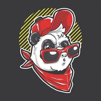 Urban panda boy