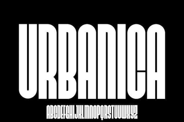 Urbanica urban font