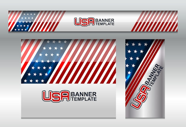 Usa flag background per independence day
