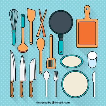 Utensili da cucina set