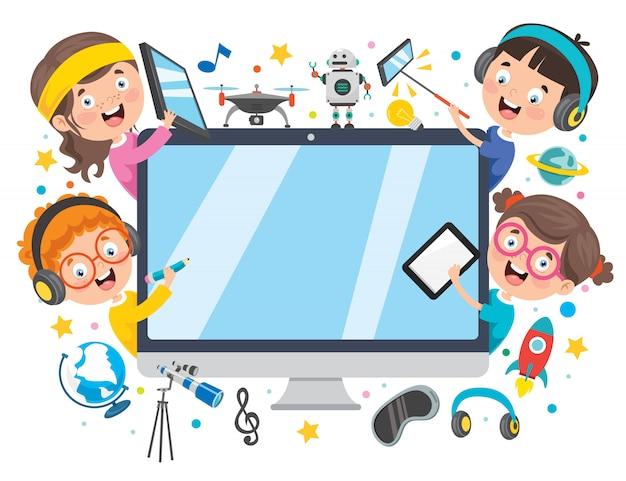 Utilizzando la tecnologia per l'istruzione o per le imprese