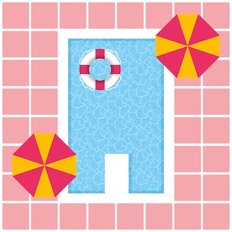Vacanze estive in piscina