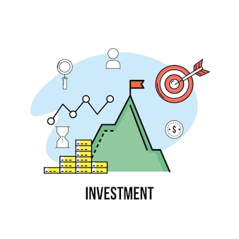 Valuta finanziaria per strategia di società di affari