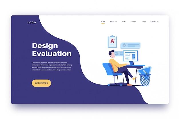 Valutazione del design della pagina di destinazione
