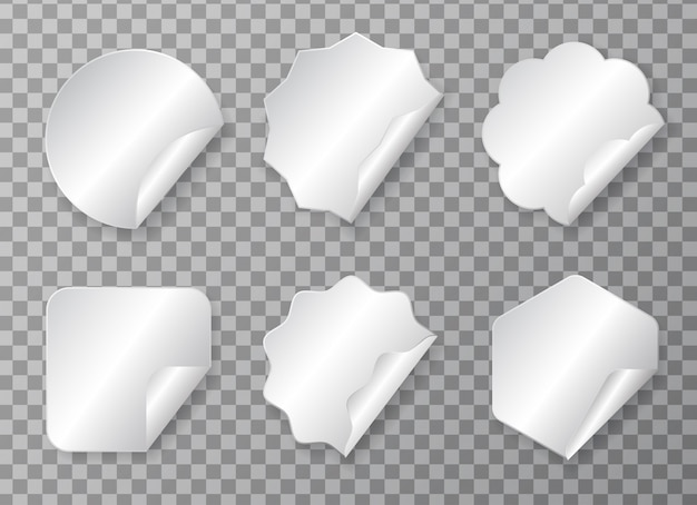 Vari set di adesivi