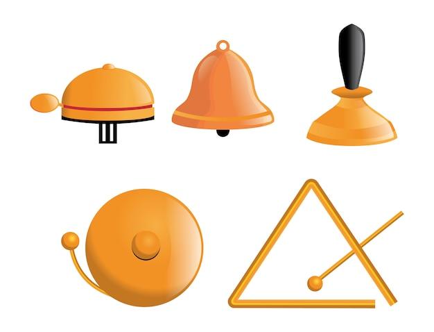 Vari tipi di campane
