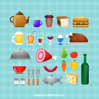Varietà di cibo