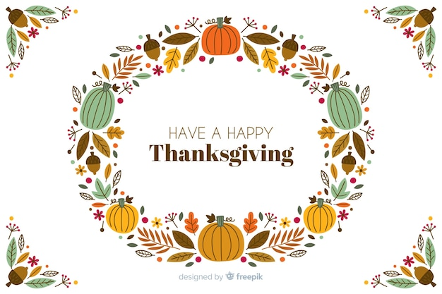 Varietà di eventi di cornice del ringraziamento