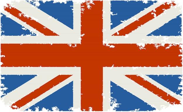 Vecchia bandiera del regno unito
