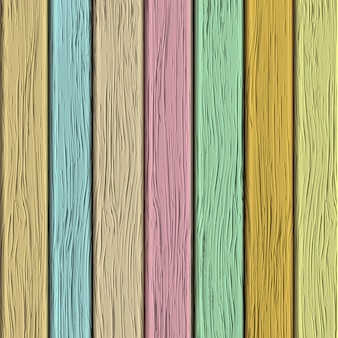 Vecchia struttura di legno nei toni pastelli