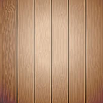 Vecchio fondo di legno di vettore di brown