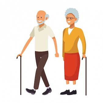 Vecchio paio di avatar