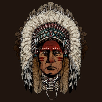 Vecchio uomo cherokee