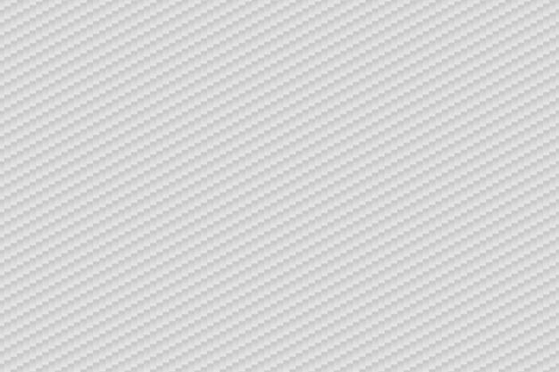 Vector astratto sfondo bianco in fibra di carbonio