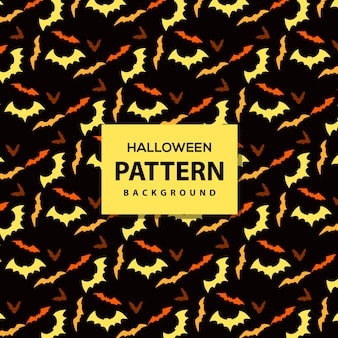 Vector helloween pattern background
