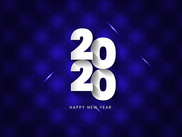 Vector l'illustrazione dei collors blu e neri del buon anno