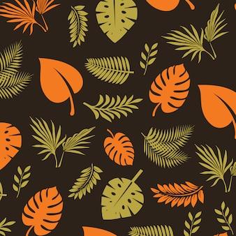 Vector lascia pattern di sfondo